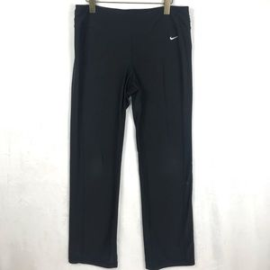 Nike Yoga Pants Straight Leg High Rise Dri Fit
